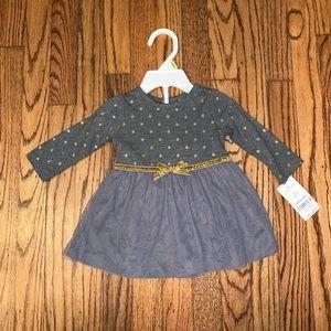 NWT Carter's 2 Piece Dress Set, 3 months